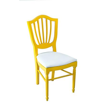 Cadeira Color Amarela 0,44 x 0,48 x 0,96h