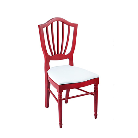 Cadeira Color Vermelha 0,44 x 0,48 x 0,96h