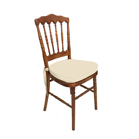 Cadeira Dior Madeira com assento skin 0,40 x 0,40 x 0,90h