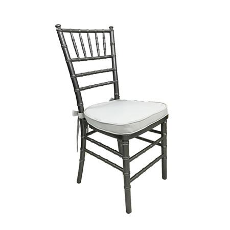 Cadeira Paris Grafite com assento New Gray 0,40 x 0,40 x 0,90h