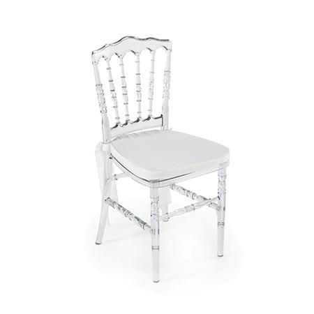 Cadeira Dior Cristal 0,40 x 0,40 x 0,90h