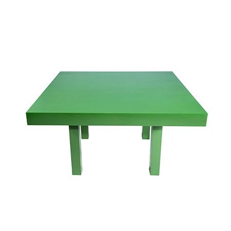 Mesa Color Verde Quadrada 1,30 x 1,30 x 0,78h
