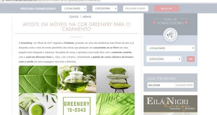 Colher de Chá Noivas - Móveis Greenery