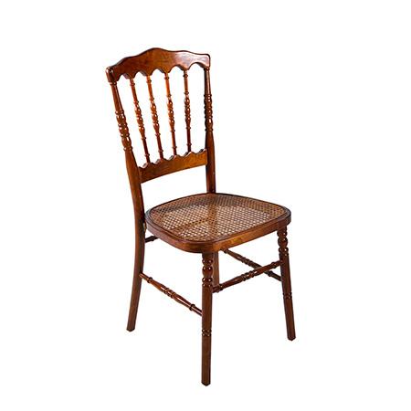 Cadeira Dior Madeira com Assento Palhinha 0,40 x 0,40 x 0,90h