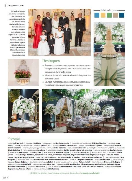 Maria Isabel e Thiago - Revista Inesquecível Casamento III