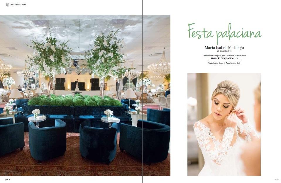 Maria Isabel e Thiago - Revista Inesquecível Casamento