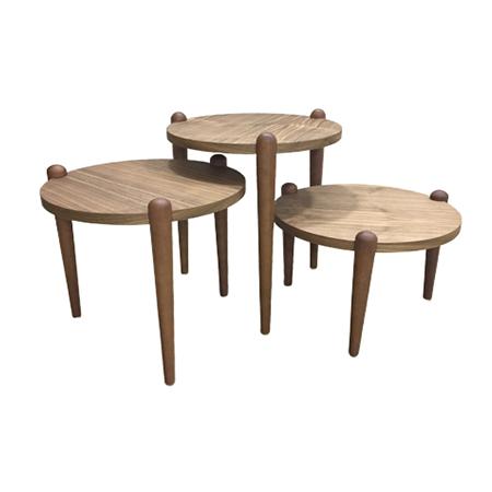 Trio mesas novas
