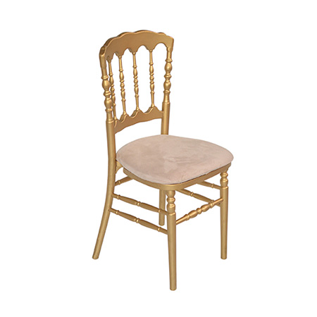 Cadeira Dior Dourada 0,38 x 0,40 x 0,88h
