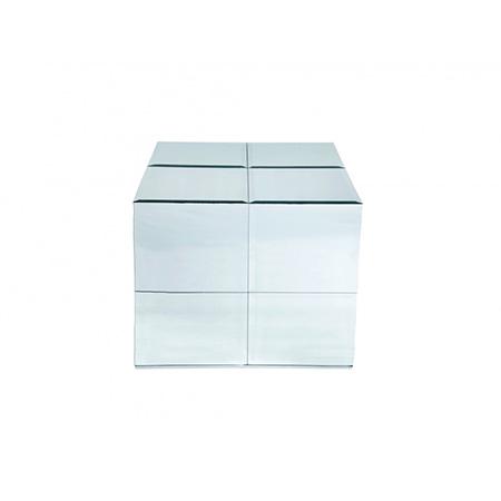 Cubo Lateral em Espelho Bisotado 0,53 x 0,53 x 0,54h