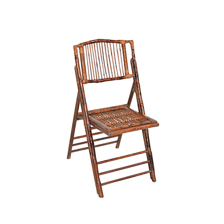 Cadeira De Bambu 0,41 x 0,38 x 0,86h