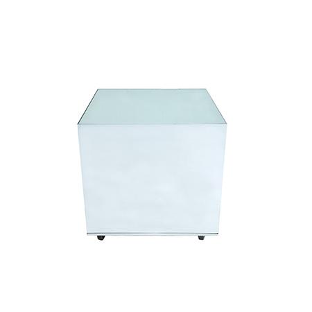 Cubo Para Bolo Espelho Liso 0,80 x 0,80 x 0,80h