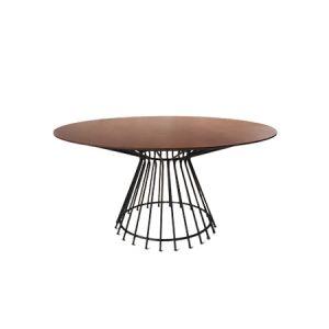 Mesa de jantar Verona 1,50 de diâmetro x 0,78h